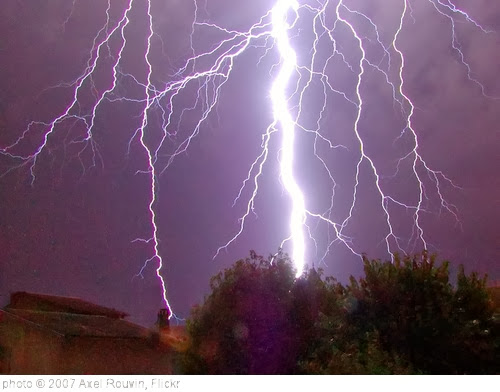 'CG lightning strike' photo (c) 2007, Axel Rouvin - license: http://creativecommons.org/licenses/by/2.0/