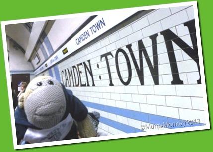 Camden Lock Underground Station