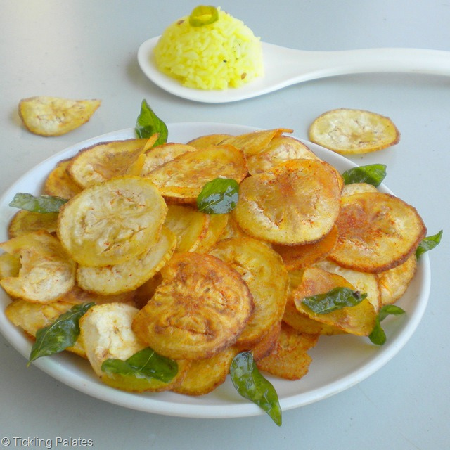 Homemade Vazhakkai Chips