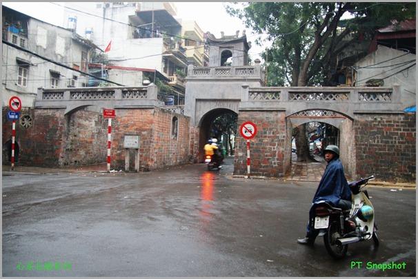 雨后的河内Old East Gate