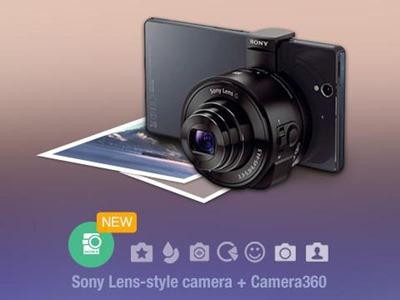 Camera360 Sony QX100 QX10