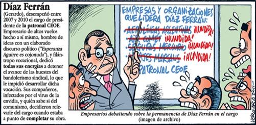 Díaz Ferrán chiste