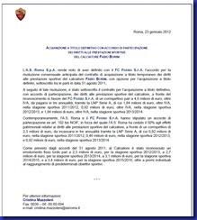 roma comunicato acquisto Borini