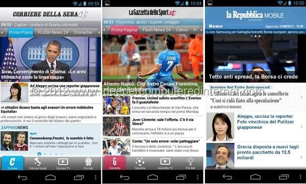 gazzetta-repubblica-corriere-mobile-android