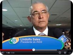 INSS - posse de Lindolfo Sales - novo presidente