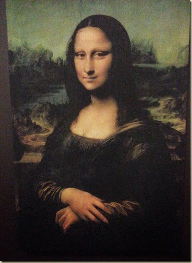 Mona Lisa Da Vinci Exhibit