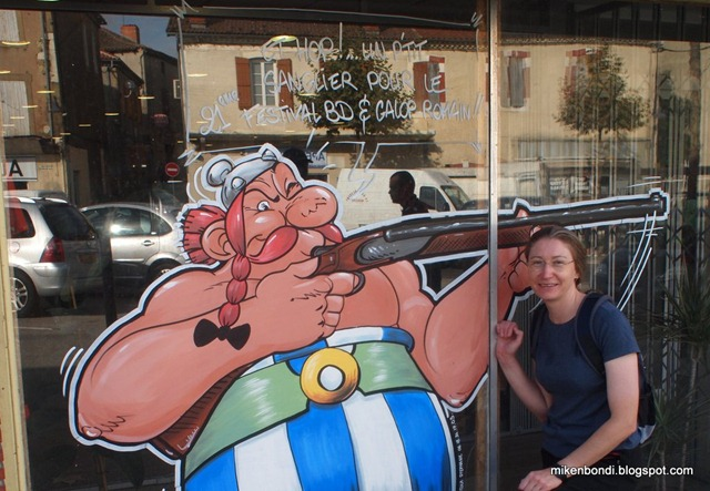Steph & Obelix - these gauls are gun crazy!