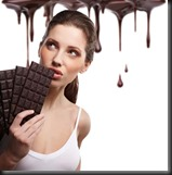 Girl and Chocolate