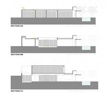 planos-seccion-casa-una-planta-casa-playa-planos
