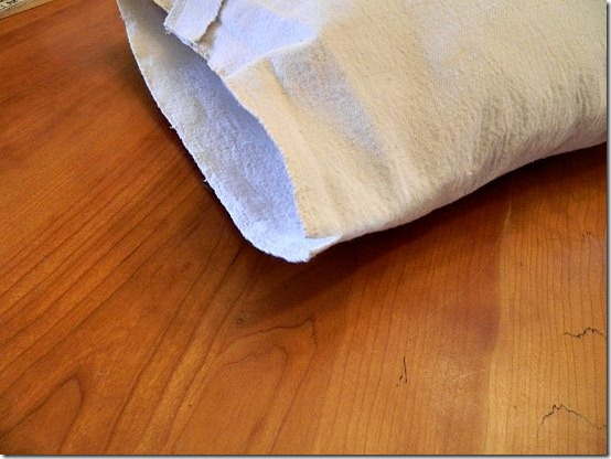 drop cloth ruffled pillow how to 11