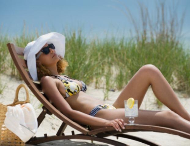 Vietnam beach relax
