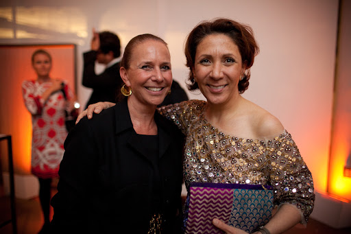 Nancy Williams and Reem Acra.