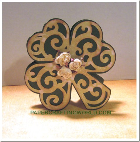 shamrock card svg cutting file-500
