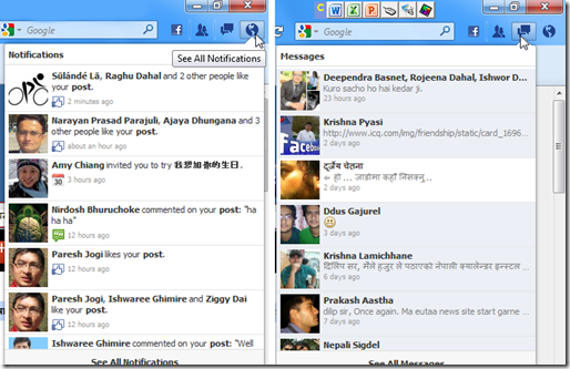 FB Messenger for firefox