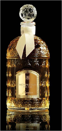 Housed in a beautifully bee-etched bottle, Guerlain's Mon Precieux Nectar brings jasmine and orange blossom florals into a deeper darker world with incense, musk, and guaiacum wood. ($270, bergdorfgoodman.com)
