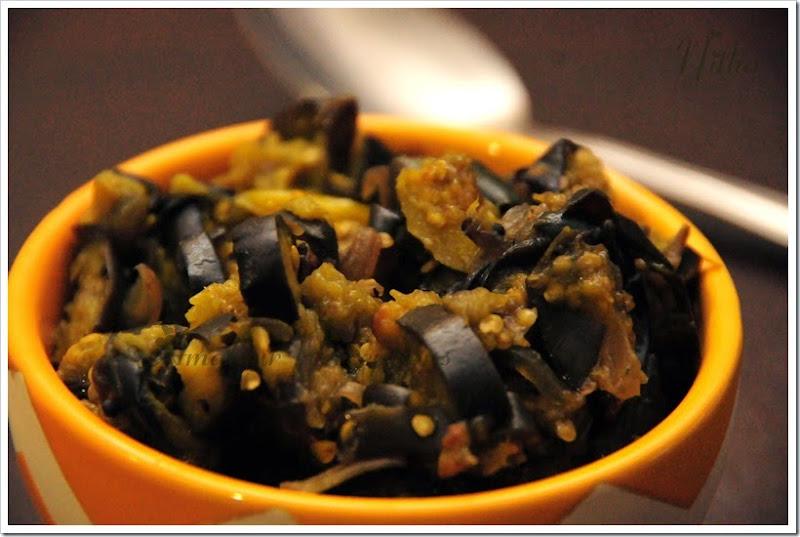 Eggplant Stir Fry 1