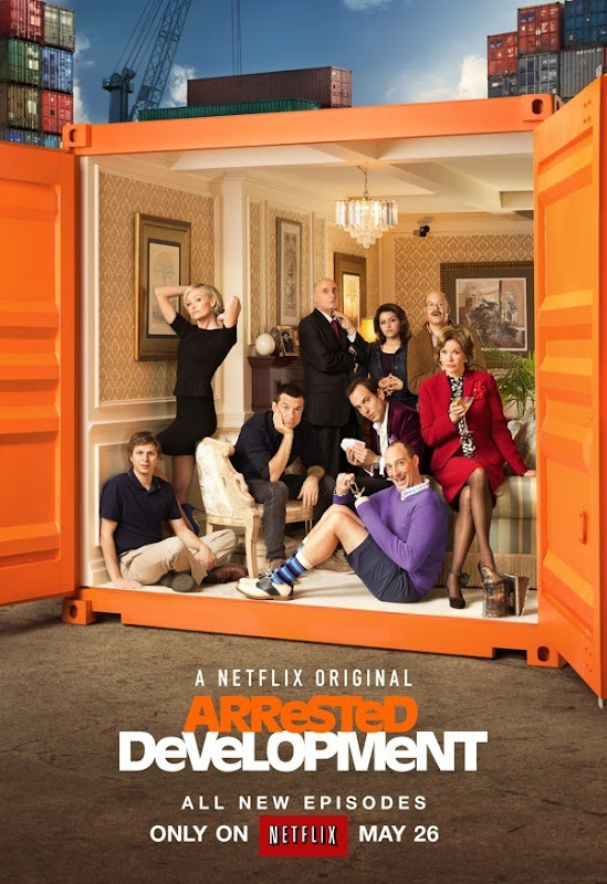 Arrested Development Poster via Geek Tyrant