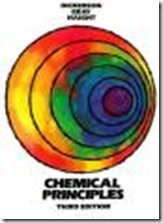 Free Book Chemical principles - Third edition Dickerson, Richard E. and Gray, Harry B. and Haight, Gilbert P (1979)