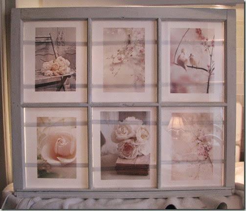 Old window florals