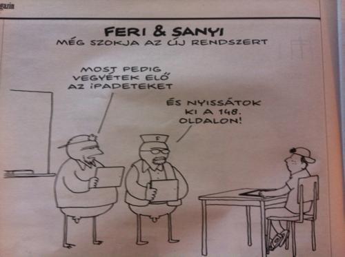 Nemzet magyarította karikatura