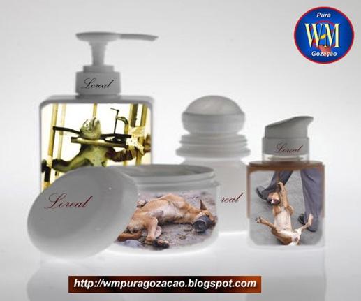FLAGRANTE - Ad Cosmético X animais