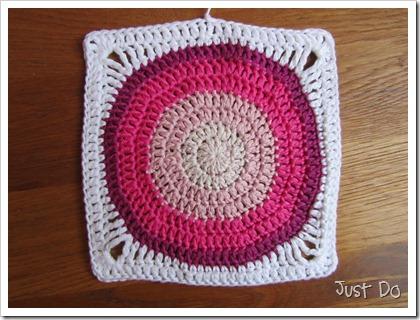 Вязание крючком круг в квадрат