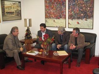 Συνάντηση Γ.Γ. με Δήμαρχο Ι.Π. Μεσολογγίου