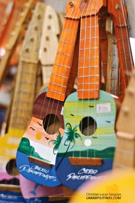 Mini Guitars at Cebu's Taboan Public Market