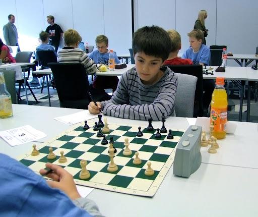 OSSU miniputter Daniel Aunan spilte en sterk turnering.