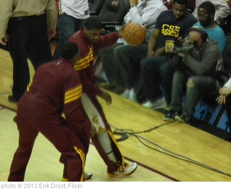 'Kyrie Irving and Tristan Thompson' photo (c) 2012, Erik Drost - license: http://creativecommons.org/licenses/by/2.0/