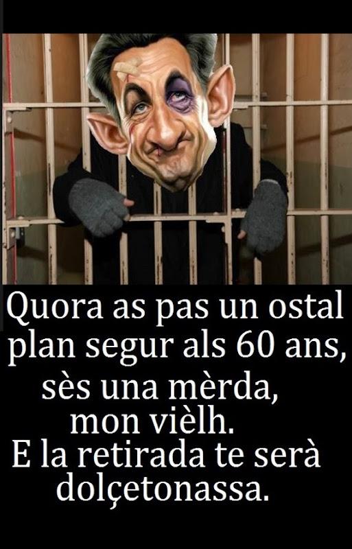 Sarkozy en presons francesas