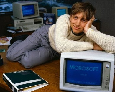 bill-gates-1983 Every engineer who has invented some new technology, ...