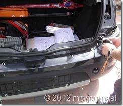 Sandero parkeersensoren inbouwen 07