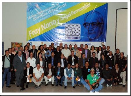 Cronistas deportivos Mexicali 2012