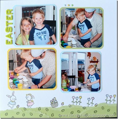 Easter Scrapbook