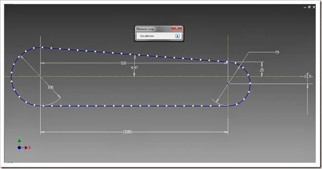 Loop length of Chain Profile