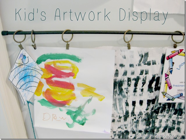 kids arwork display 2