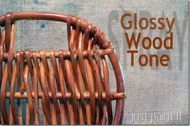 Glossy Wood Tone Spray