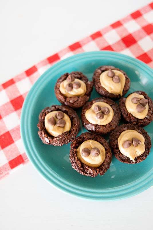 Mini Peanut Butter Brownie Bites Recipe Ghirardelli Brownies