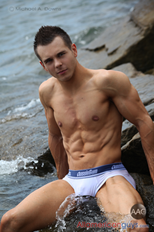 Wes in aussieBum briefs