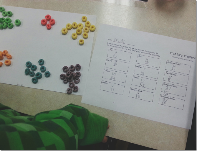 Fruit Loop Fractions