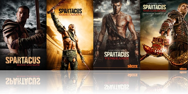 Spartacus Complete Banner Series