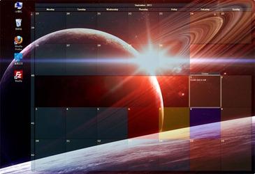 Free Windows 7 Desktop Calendar