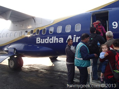 Népal Buddha Air