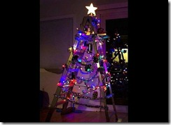Ladder Christmas Tree HDTrends
