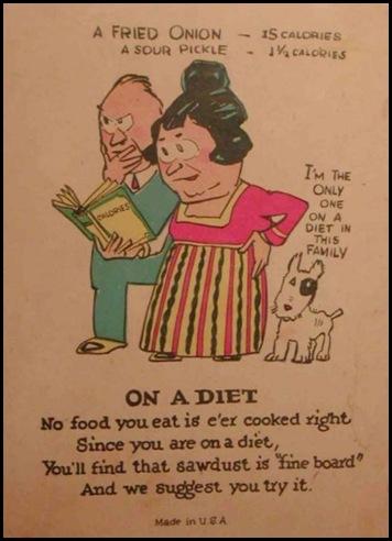 Diet? What's a diet?