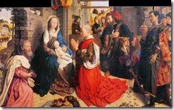 Adoración de los Reyes-Van der Goes