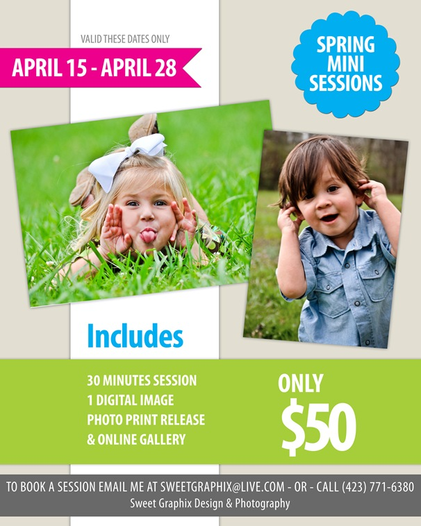 SGDP-Spring Mini Session 8x10
