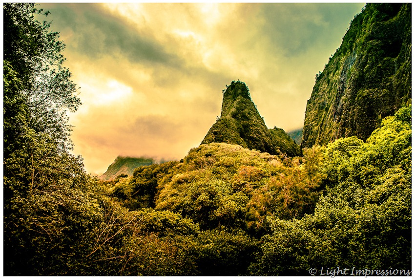 Iao Needle Maui, travel photography