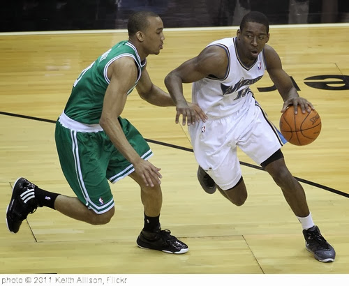 'Avery Bradley and Jordan Crawford' photo (c) 2011, Keith Allison - license: http://creativecommons.org/licenses/by-sa/2.0/
